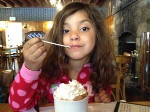 Hot Chocolate - Strawberry Lodge Restaurant